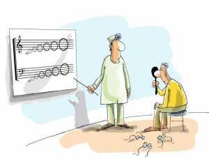 memorizar hojas de partituras