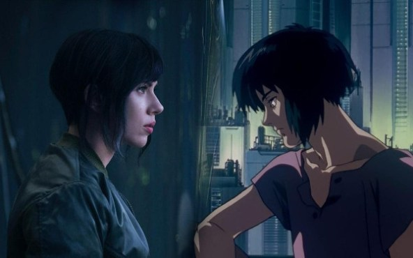 scarlett-johanson motoko kusanagi ghost in-the-shell