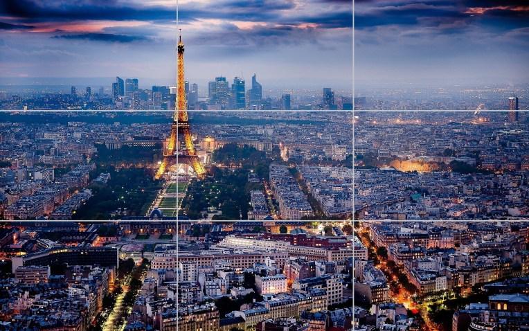 Paris e a regra dos terços da fotografia