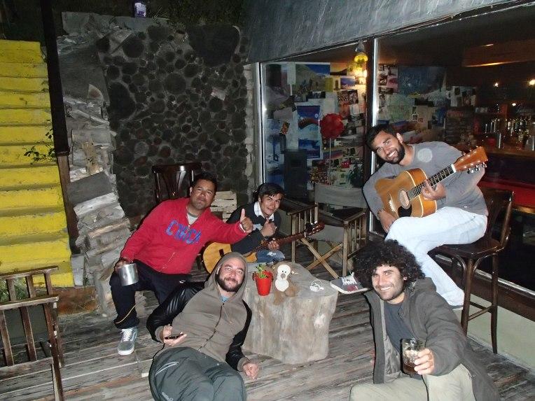 Trabalhando em um hostel em Bariloche