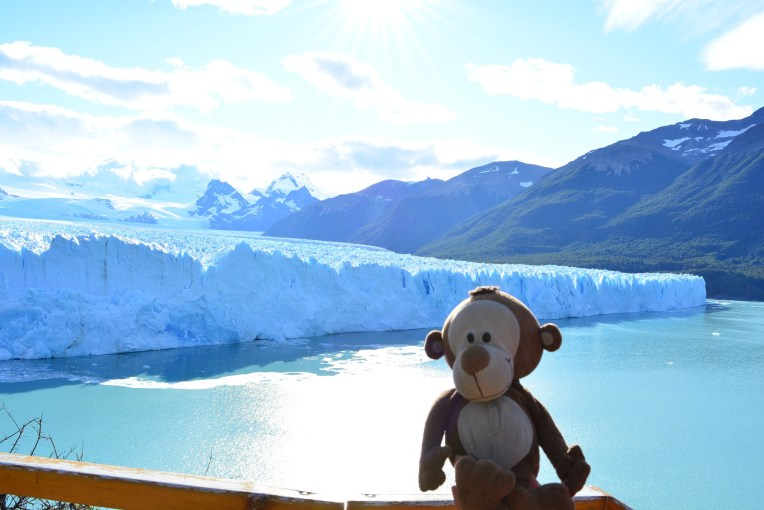 Mucuvinha no Glacial Perito Moreno