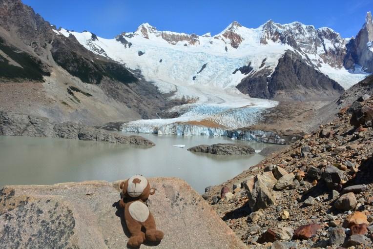 Mucuvinha, o Glacial Piedras Blancas e a Laguna Torres