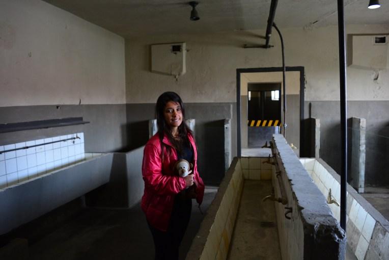 Banheiro do presídio do Ushuaia