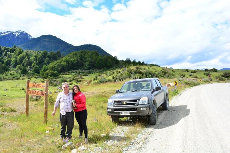 Carona pela carretera austral, Chile