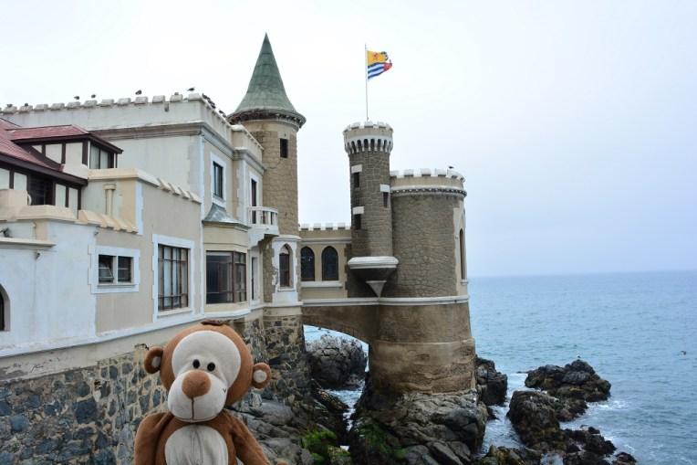 Mucuvinha no Castelo Wulff, em Viña del Mar