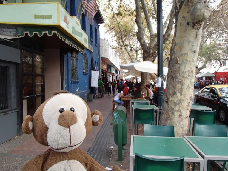 Mucuvinha no bairro de Bellavista, Santiago