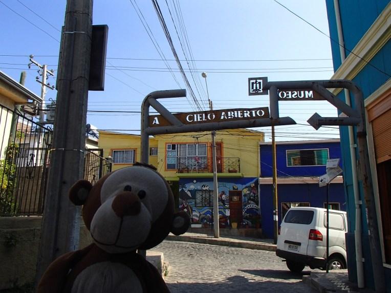Mucuvinha no Museo a Cielo Abierto, Valparaíso