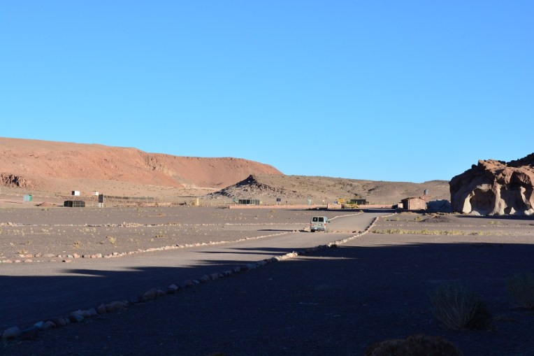 Chegando a Yerbas Buenas, no Atacama