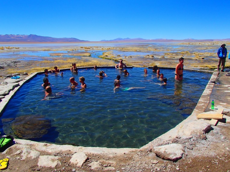 Piscina de águas termales