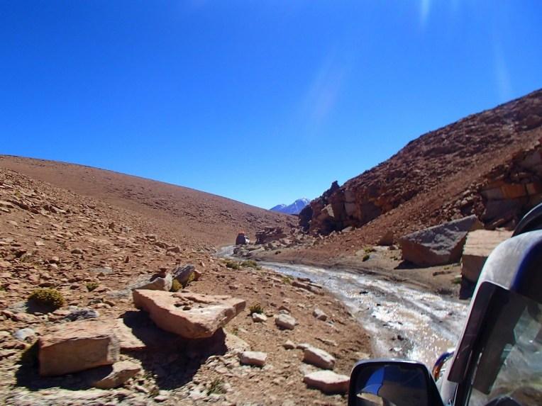Estradas difíceis para o Salar do Uyuni