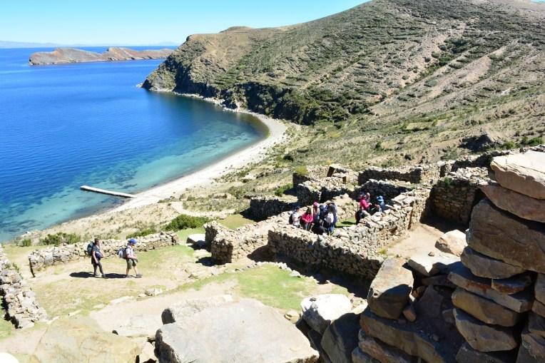Ruínas de la Chinkana, na Isla del Sol