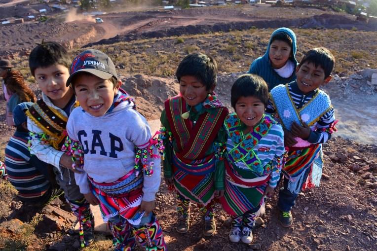 Crianças no Tinku