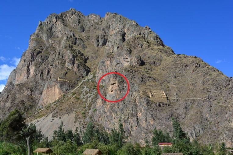 Cerro vizinho de Ollantaytambo