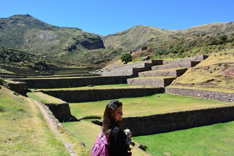 As terraças de Tipón, muito características das construções incas.
