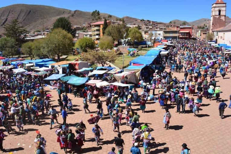 Festival do Tinku, em Macha