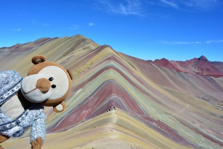 Mucuvinha no topo do Cerro Colorado