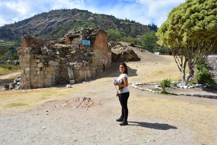 Ruínas da antiga igreja de Yungay
