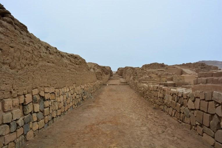 Ruas de Pachacamac