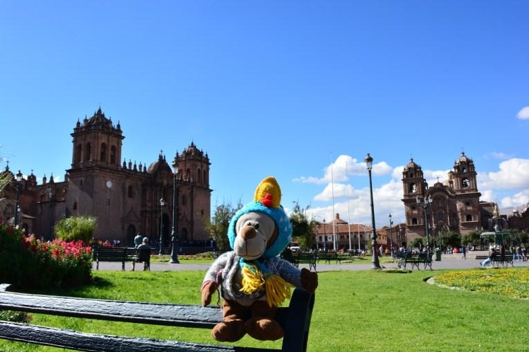 Mucuvinha na Plaza de Armas de Cusco