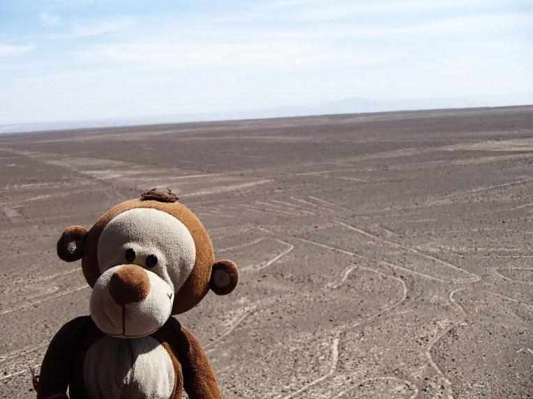 Mucuvinha nas Linhas de Nazca