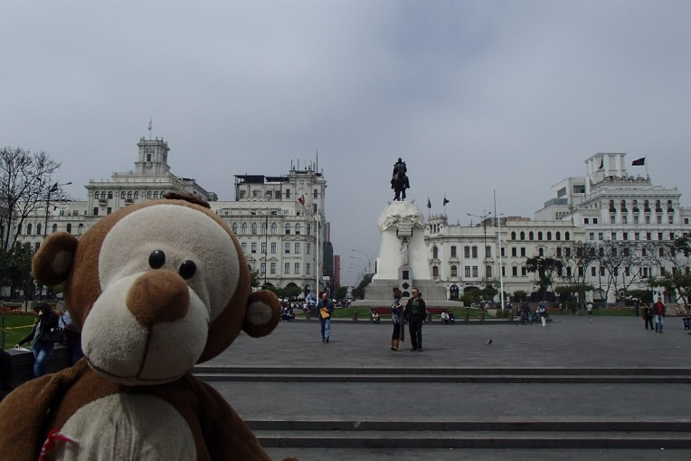 Mucuvinha na Plaza San Martin