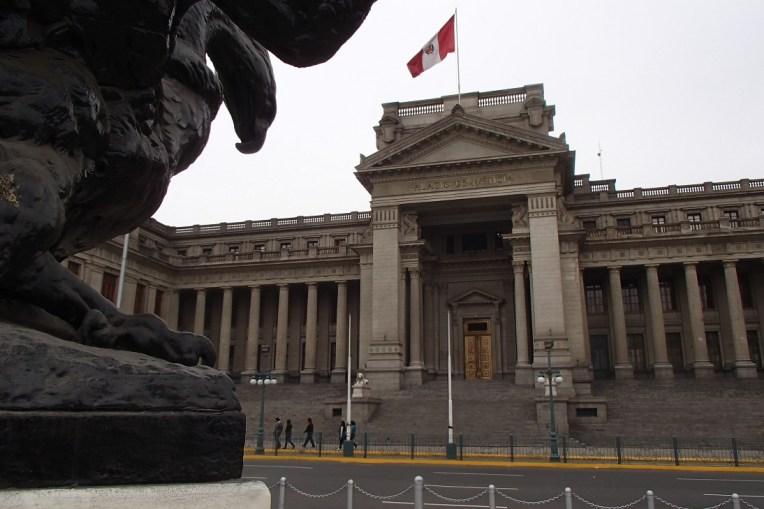 Palácio da Justiça, em Lima