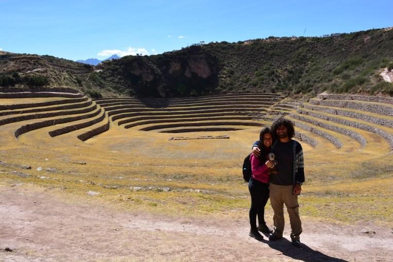 Moray inca, perto de Cusco, Peru