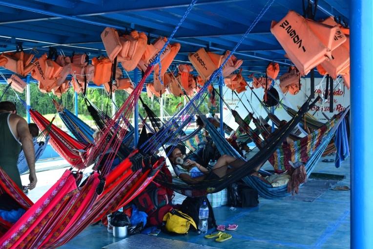 Barco para Iquitos