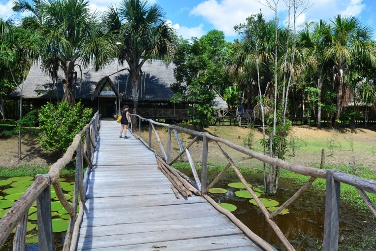 Wild Yarapa Amazon Jungle Lodge - onde passamos uma excelente noite na selva!