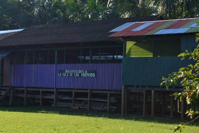 Entrada da Isla de los Monos, Iquitos