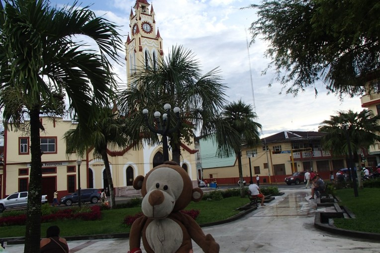 Mucuvinha na Plaza de Armas de Iquitos