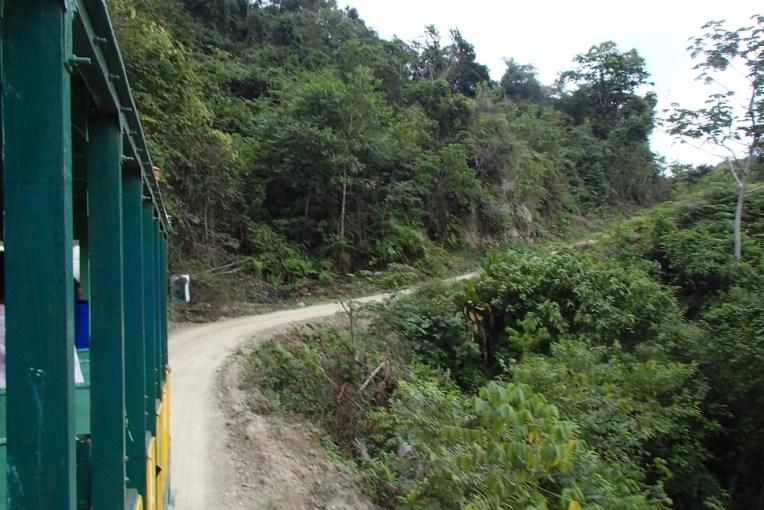 Cruzando do Peru para o Equador por La Balsa