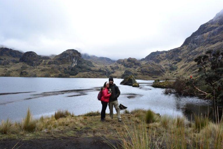 Na Lagoa Toreadora, no Parque Nacional El Cajas