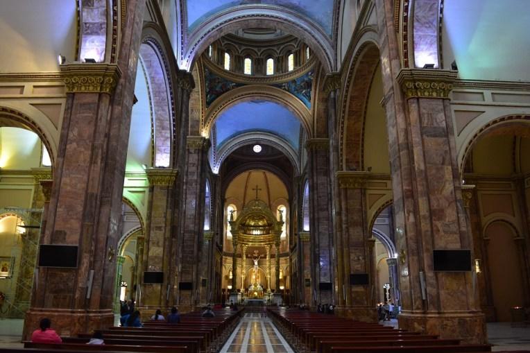 Interior da catedral de Cuenca