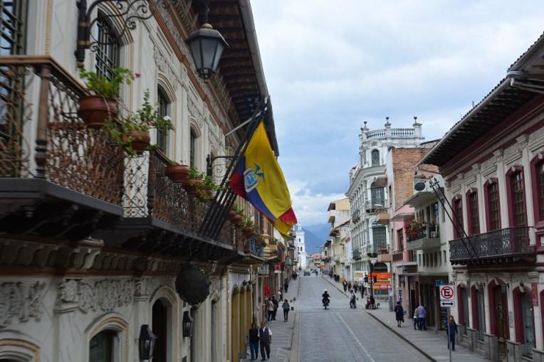 Belas ruas de Cuenca, Equador