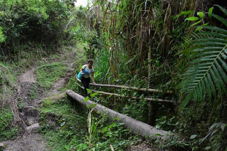 O caminho até El Aguacate é sofrido, mas muito bonito