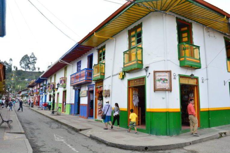 Casas coloniais de Salento