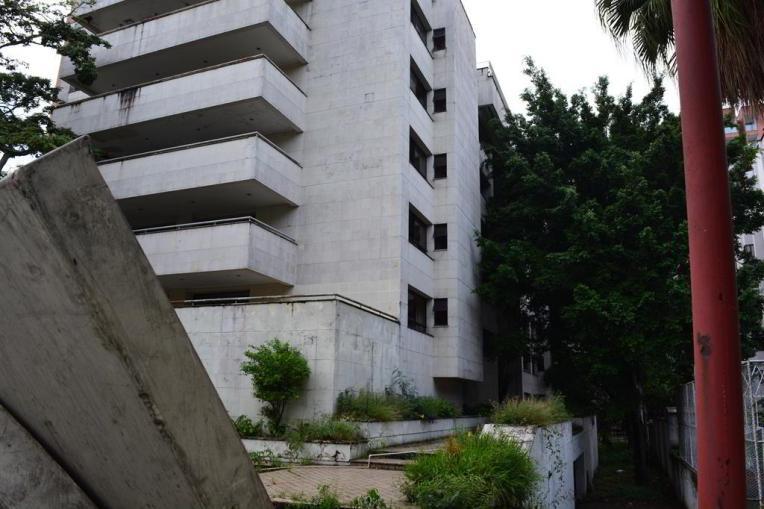 Edifício Mónaco, local de atentado contra a família de Pablo Escobar