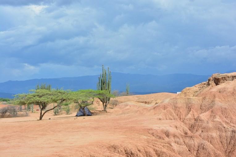 Acampando no deserto de Tatacoa