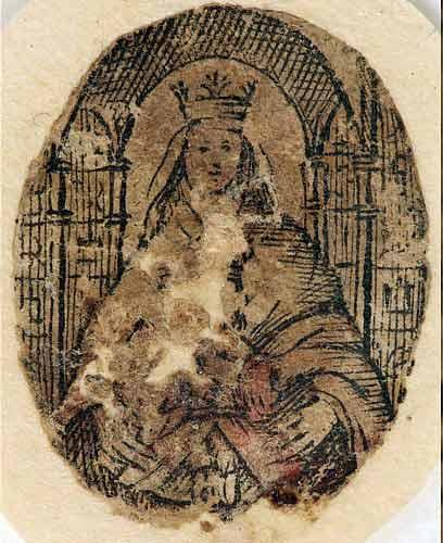 Imagem da Virgem de Coromoto