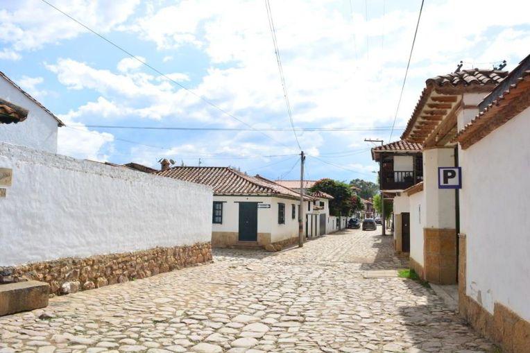 As belas ruas coloniais de Villa de Leyva