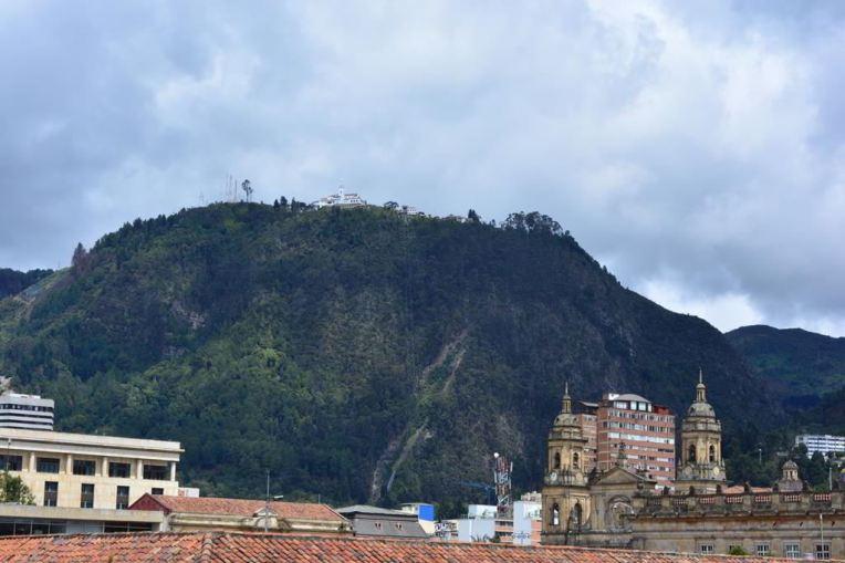 Cerro Monserrate, em Bogotá