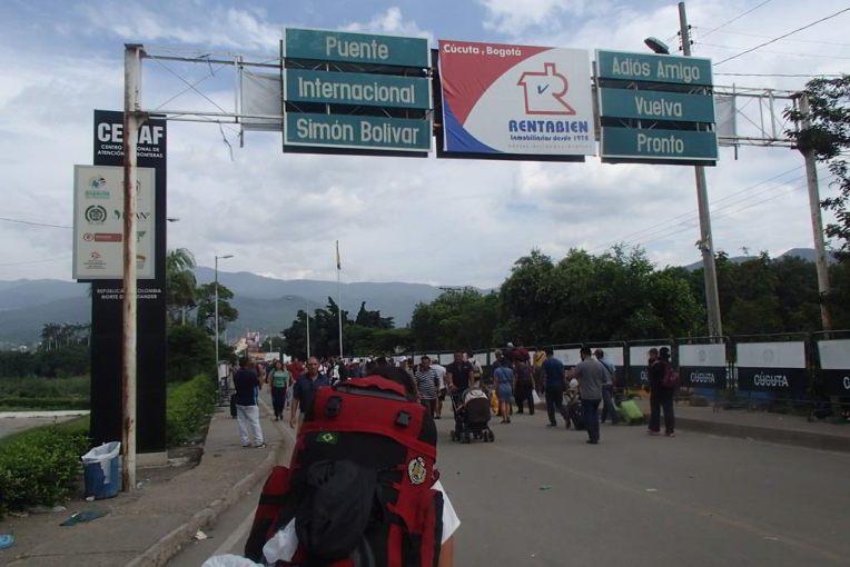 Fronteira Colômbia - Venezuela de Cúcuta