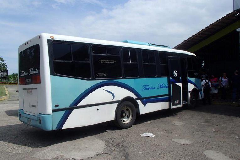 Nosso ônibus para Mérida