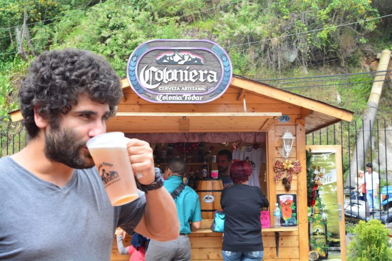 Cerveja artesanal na Colônia Tovar