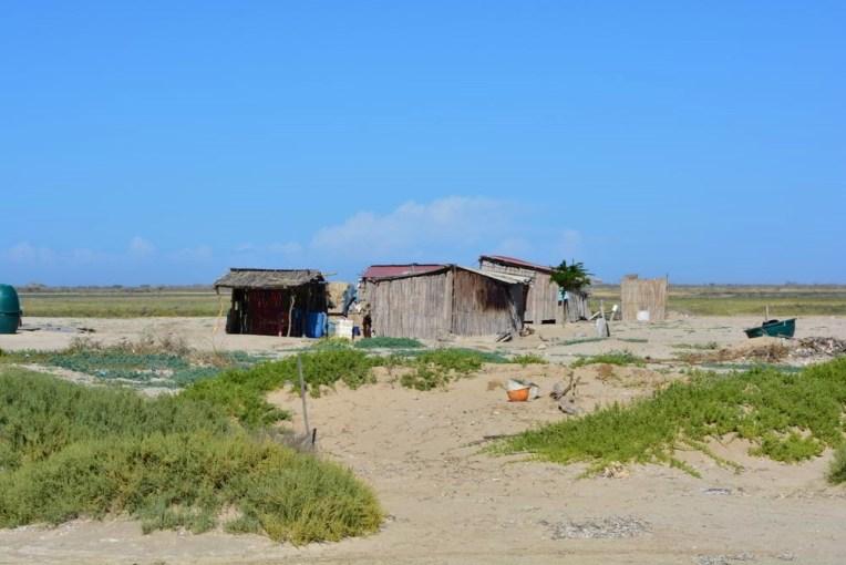 Casas típicas de La Guajira