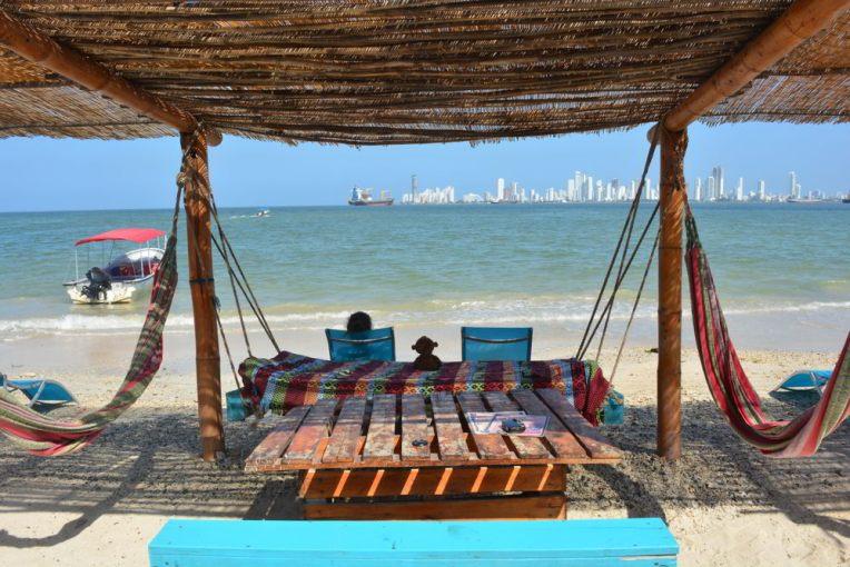 Ilha Tierra Bomba, pertinho de Cartagena