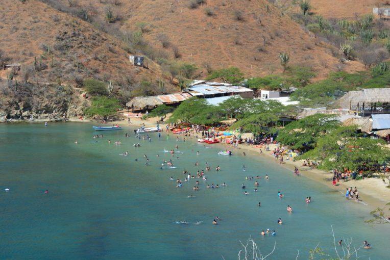 Playa Grande, pertinho de Taganga