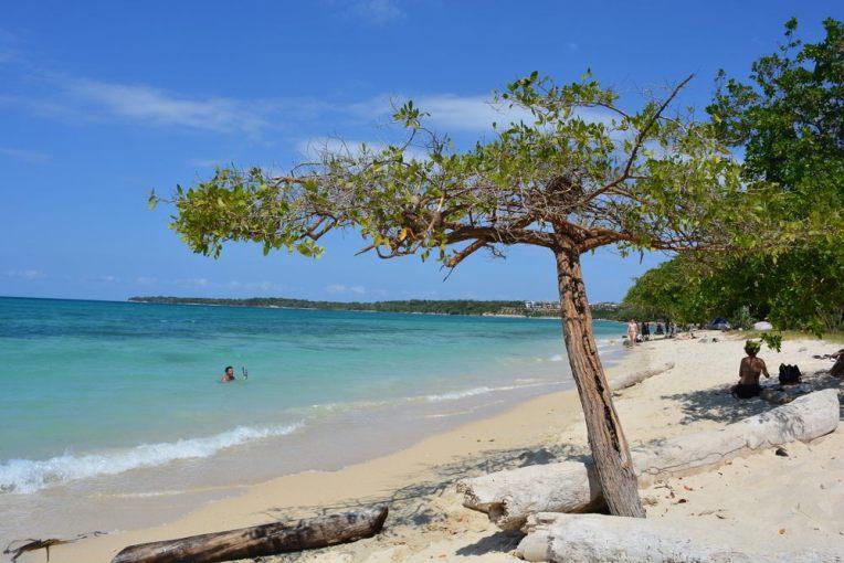 Lado tranquilo da Playa Blanca