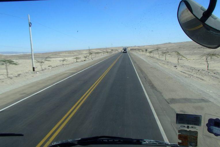 Carona pelo Peru